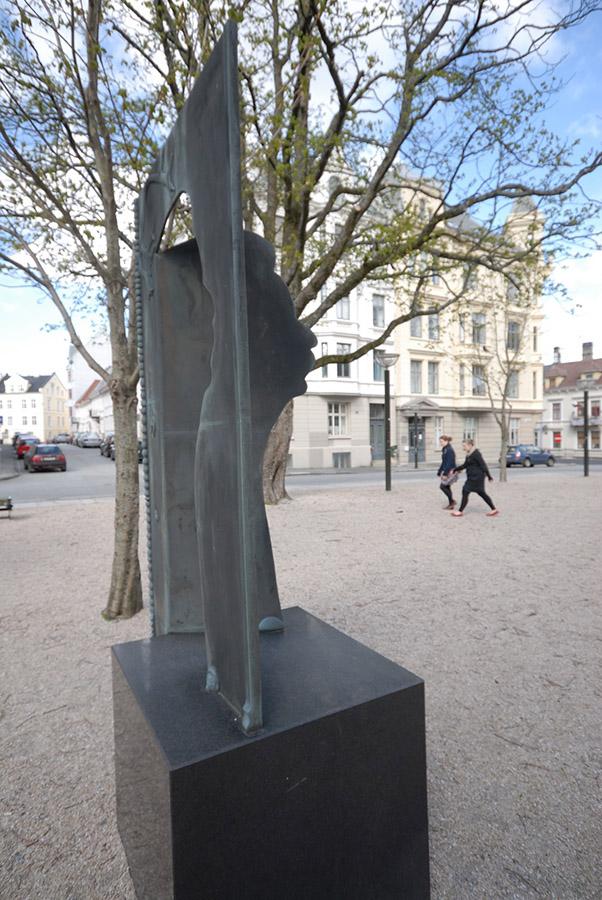 Edvard Grieg sculpture, Nygårdshøyden