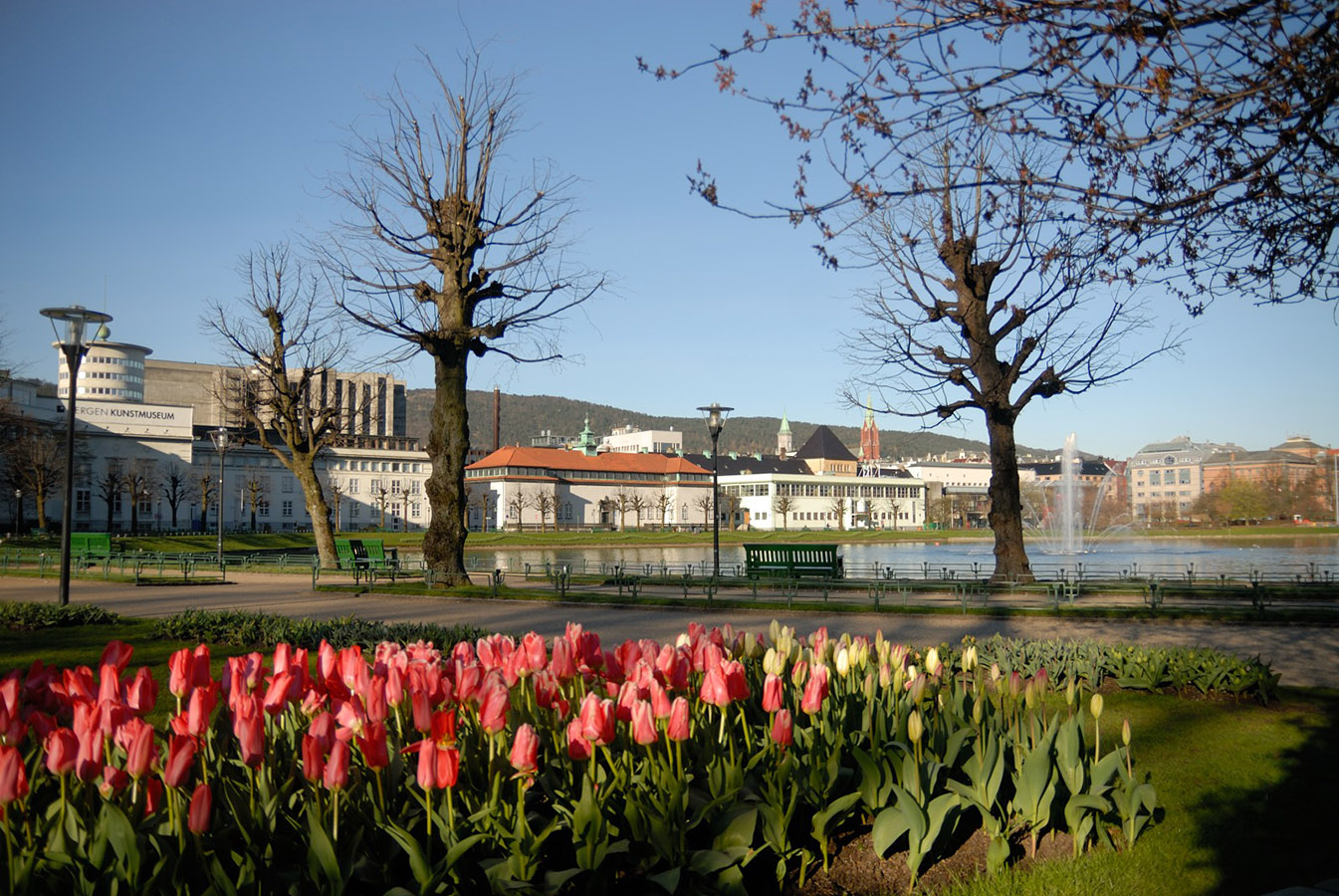 Byparken, Lille Lungegårdsvann