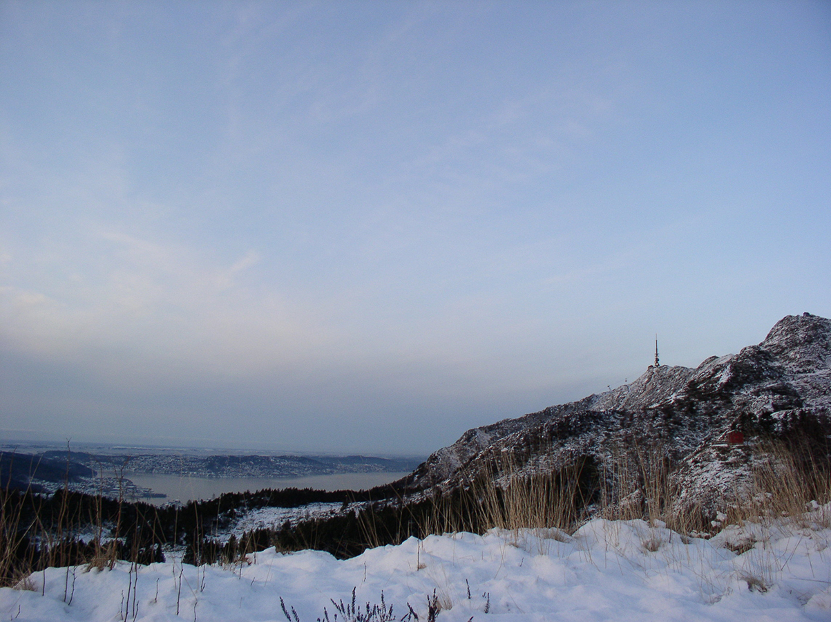 Ulriken winter view