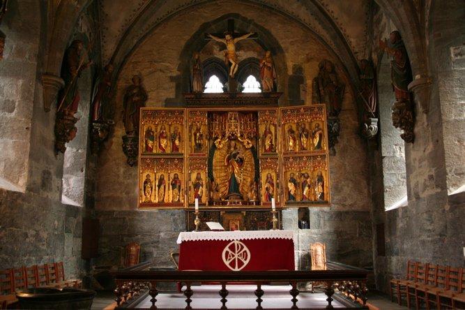 Altarpiece of St. Mary's Church.