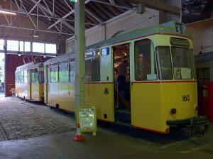 Tram 160, Bergens Tekniske Museum, Andrewrabbott