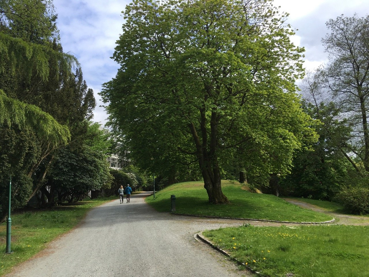 Nygårdsparken park, Møhlenpris. Photo