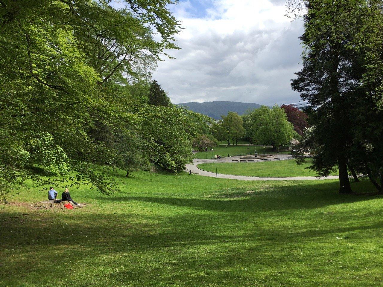 Nygårdsparken park, Møhlenpris - photo