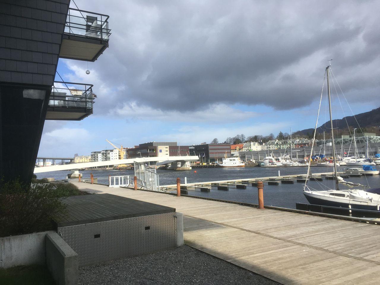 Quays in Solheimsviken